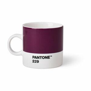 Tmavě fialový hrnek Pantone Espresso, 120 ml