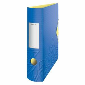 Modrý mobilní pořadač Leitz, šířka 82 mm