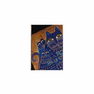 Týdenní diář s magnetickým zavíráním na rok 2022 Paperblanks Mediterranean Cats, 10 x 14 cm