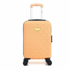 Oranžové skořepinové zavazadlo na 4 kolečkách LPB Alicia, 31l