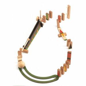 Dřevěná dráha Djeco Zig Go, 27 dílků