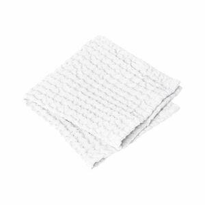 Sada 2 bílých ručníků Blomus, 30 x 30 cm