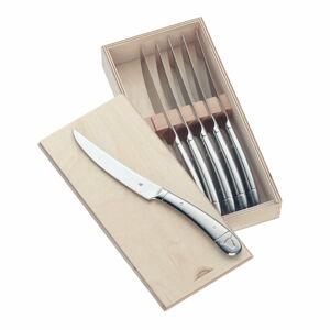 Dárková sada 6 steakových nožů z nerezové oceli WMF
