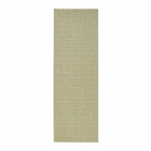 Zelený venkovní koberec Bougari Coin, 80x200cm