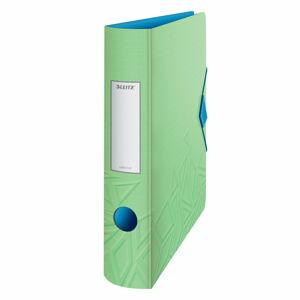 Zelený mobilní pořadač Leitz, šířka 65 mm