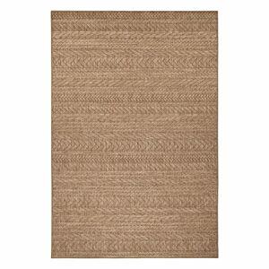 Hnědý venkovní koberec Bougari Granado, 120 x 170 cm