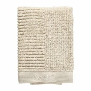 Béžový bavlněný ručník Zone Classic,70x50cm