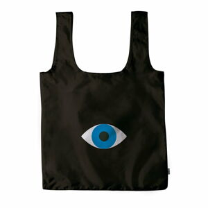 Černá nákupní taška DOIY Eye