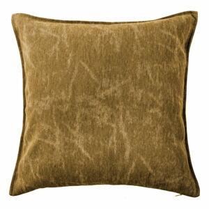 Hnědý dekorativní polštář Tiseco Home Studio Chester,44x44cm