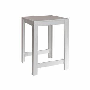 Bílý barový stůl TemaHome Sulens, šířka 70 cm