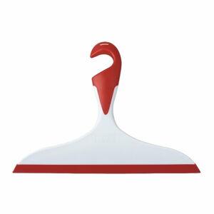 Červená-bílá koupelnová stěrka Wenko Loano
