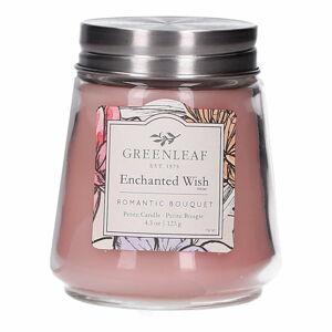 Svíčka ze sojového vosku Greenleaf Wish, doba hoření 30 - 40 hodin
