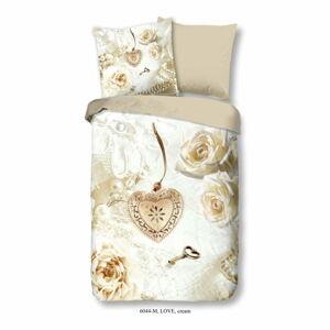 Povlečení z mikroperkálu Muller Textiels Romance, 135 x 200 cm